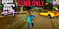 [70MB]Download and Install GTA VICE CITY in Android||APK+DATA||HIGHLY COMPRESSED…..