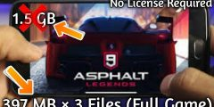 (APK+OBB) Asphalt 9 Legends Highly compressed For Android 2018 [Must Watch]