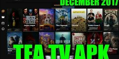 HOW TO INSTALL TEA TV APK TO THE NVIDIA SHIELD TV OR ANY ANDROID DEVICE DECEMBER 2017