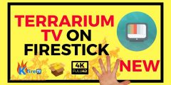 Terrarium TV Firestick DOWNLOAD + How to Use Latest APK Update for NO Buffering