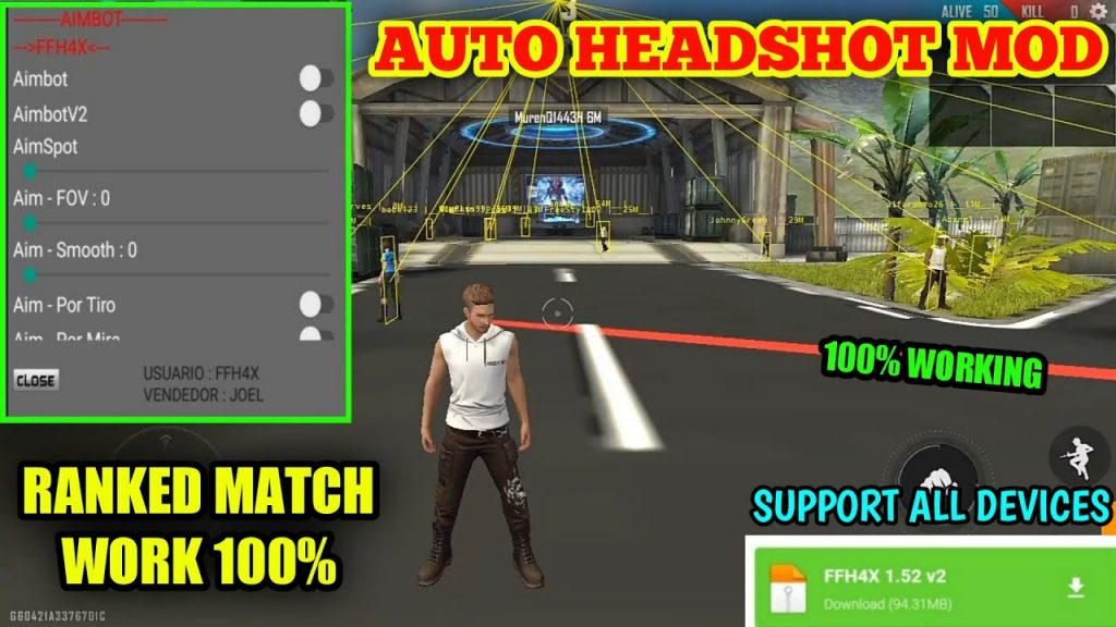 The Best Free Fire Headshot Hack Mod Apk 2020 Pictures