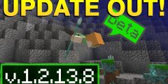 Minecraft PE 1.2.13.8 UPDATE AQUATIC BETA | NO LICENSE VERIFICATION APK DOWNLOAD