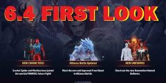 All Characters & Uniforms Preview + Detail Information – 6.4 Test Build APK – MARVEL Future Fight