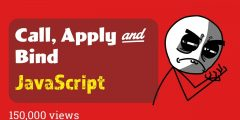 javaScript call apply and bind