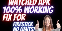 HOW TO INSTALL WATCHED APK FIX ON FIRESTICK NOW Working! IF WATCHED PRO FAILS TRY THIS METHOD