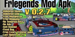 Fr Legends Mod Apk V0.2.7 | Unlimited Money & Gold | Free Buy Livery Creator Pas