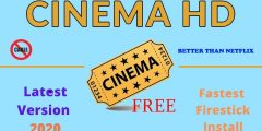 🔥 CINEMA HD APK FIXED 🔥 OCTOBER 2020 🔥 INSTALL ON YOUR FIRESTICK