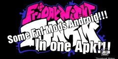 Many FNF mods in one apk Android!!!